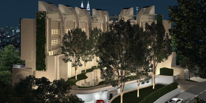 Architect Hla New Residences Kuala Lumpur Malaysia
